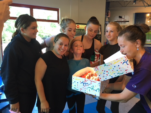 Coach Anastasia's Birthday