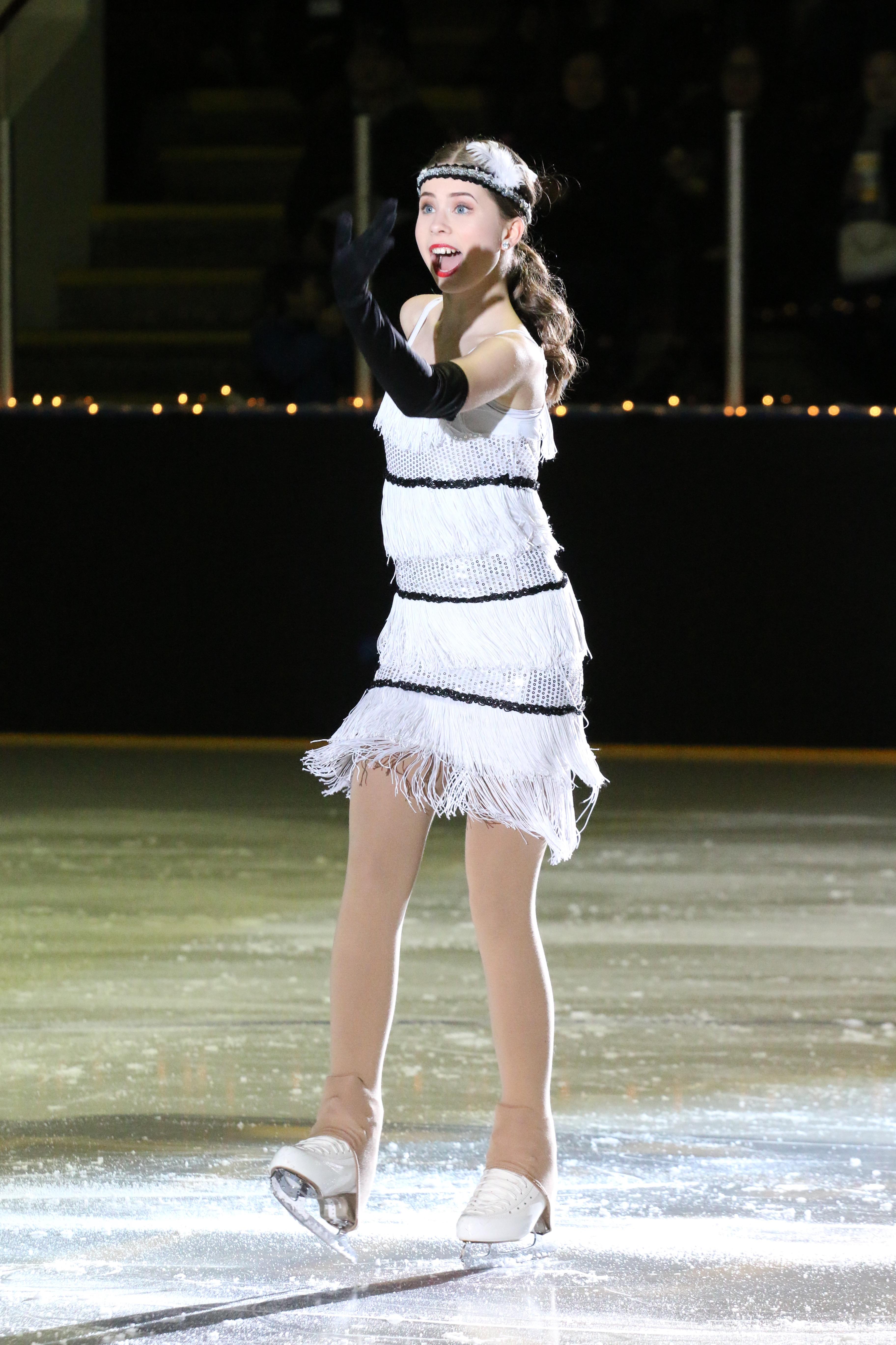 Sara Morrow Ice Show 2018