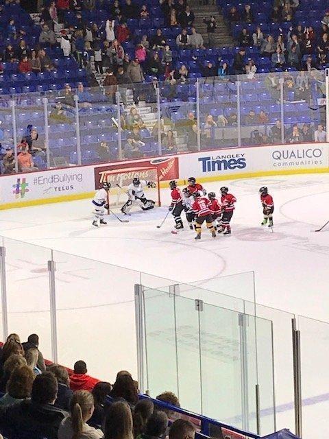 Mini Hockey game Giants Oct 2018 Powerskaters