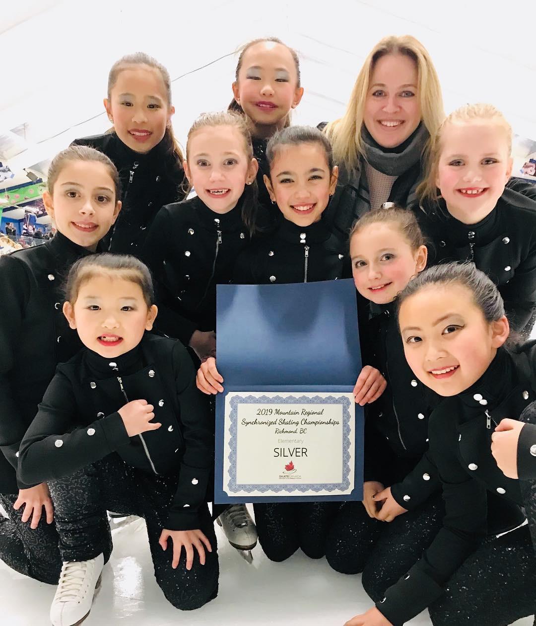 Synchro - Mountains - Elementary Team